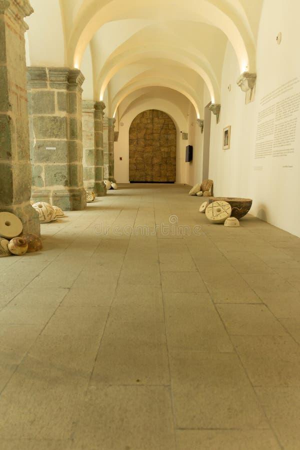 Detalle del centro de San Pablo Cultural en Oaxaca México foto de archivo libre de regalías