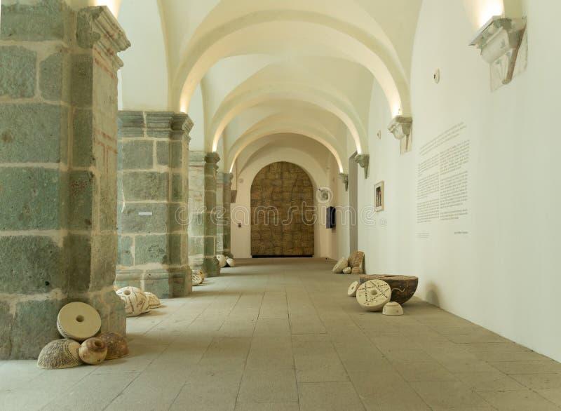 Detalle del centro de San Pablo Cultural en Oaxaca México imagen de archivo libre de regalías