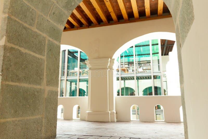 Detalle del centro de San Pablo Cultural en Oaxaca México foto de archivo