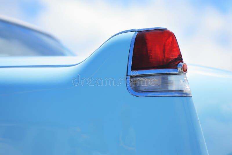Detalle del coche de la vendimia foto de archivo