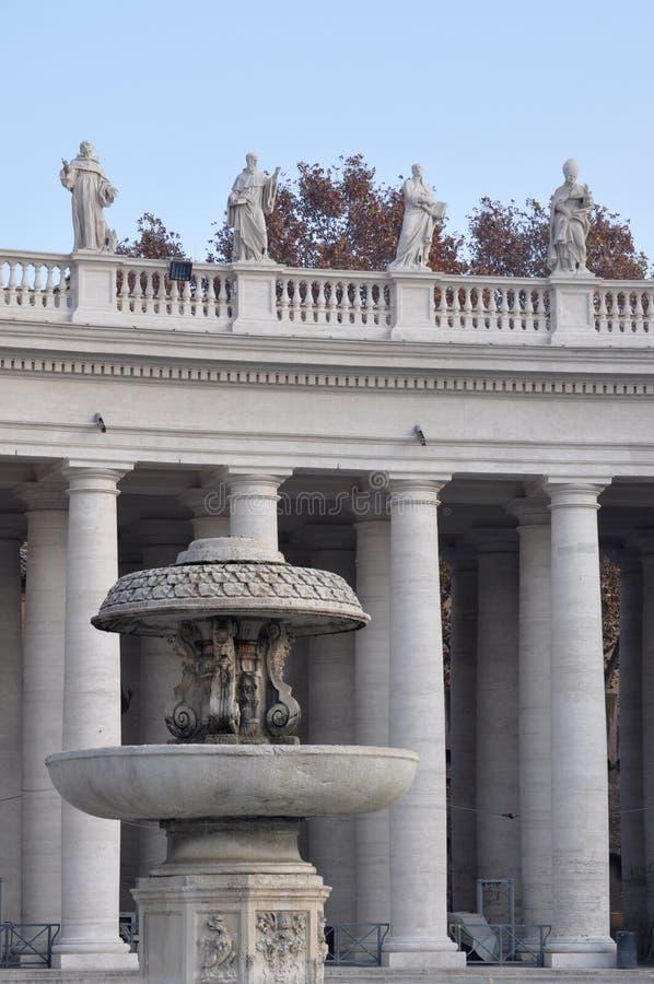 Detalle del cuadrado de San Pedro imagenes de archivo