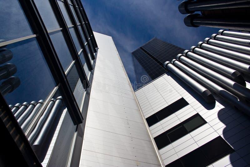 Detalle del edificio de oficinas fotografía de archivo libre de regalías
