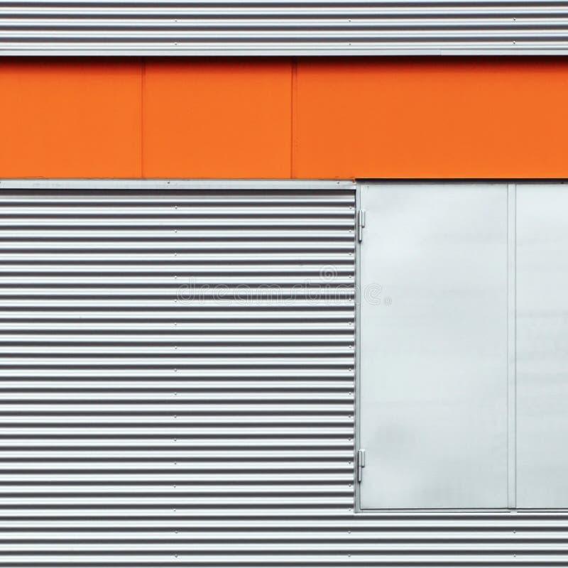 Detalle del edificio del metal imagen de archivo