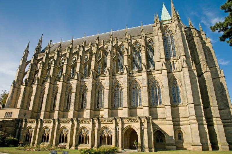 Detalle del edificio gótico fotos de archivo