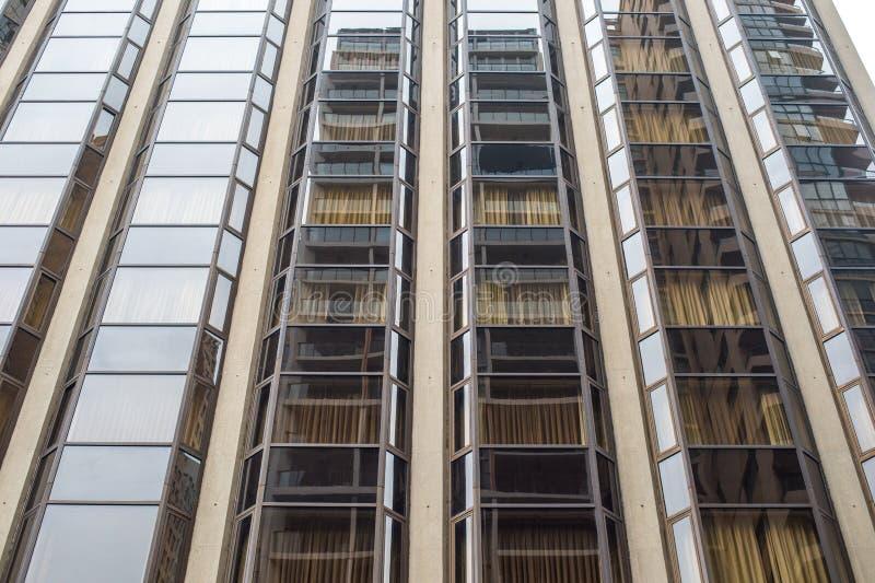 Detalle del edificio moderno imagenes de archivo