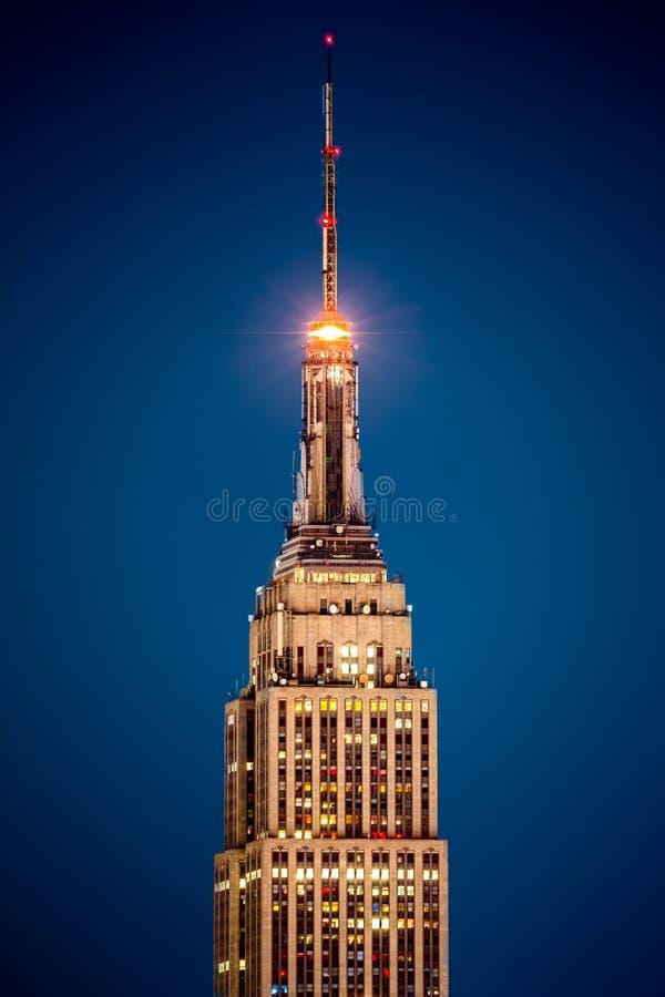 Detalle del Empire State Building imagen de archivo