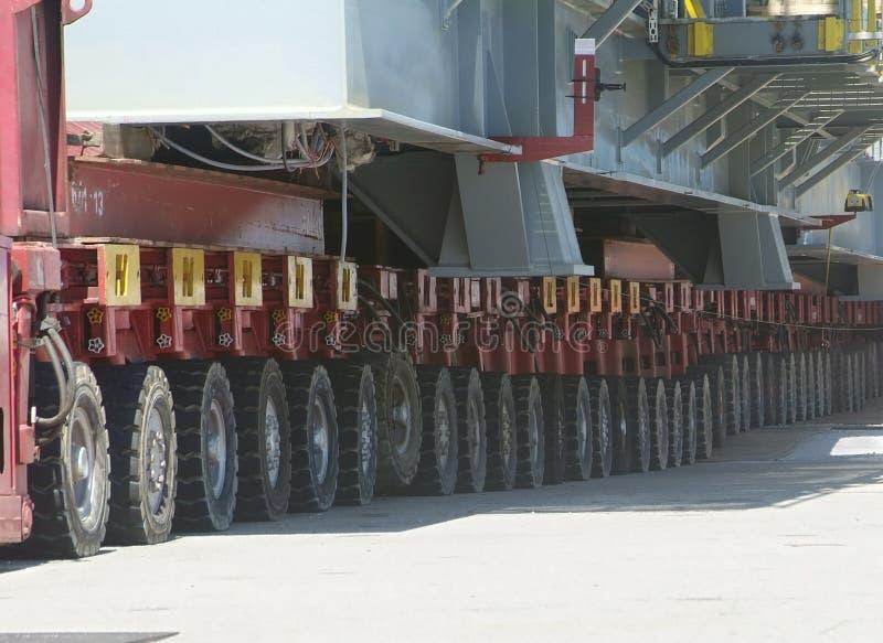 Detalle del equipo heavy-lift fotos de archivo
