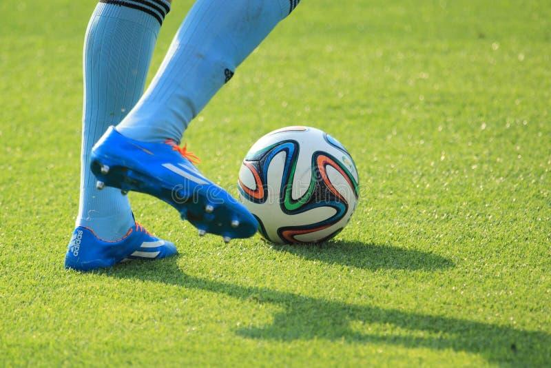 Detalle del fútbol imagen de archivo libre de regalías