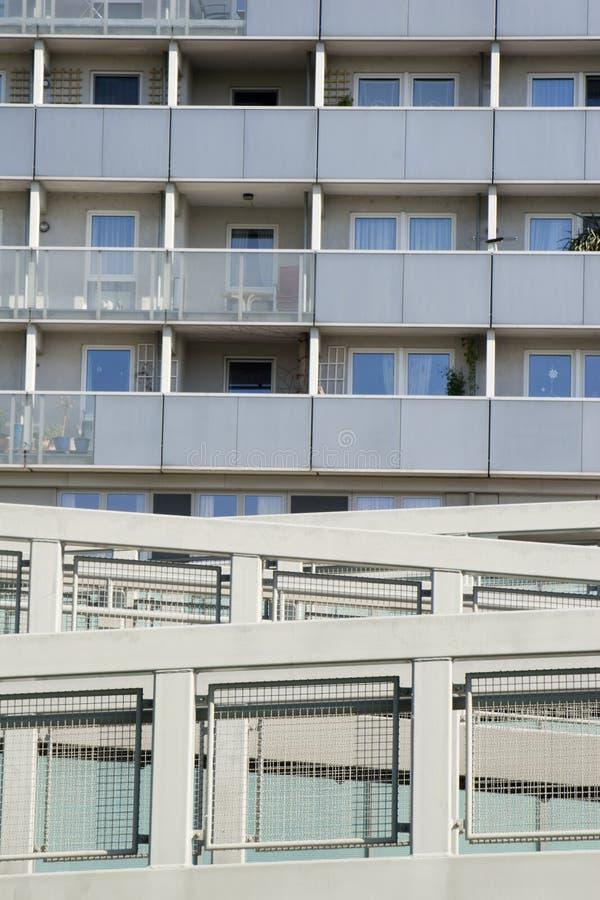 Detalle del fromv moderno Viena del architectur fotografía de archivo