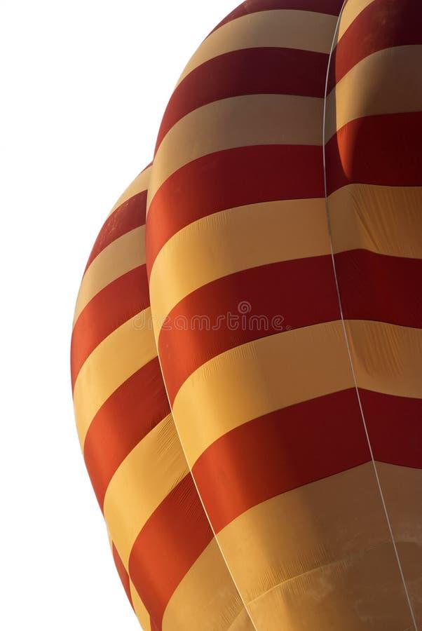 Detalle del globo del aire caliente fotos de archivo
