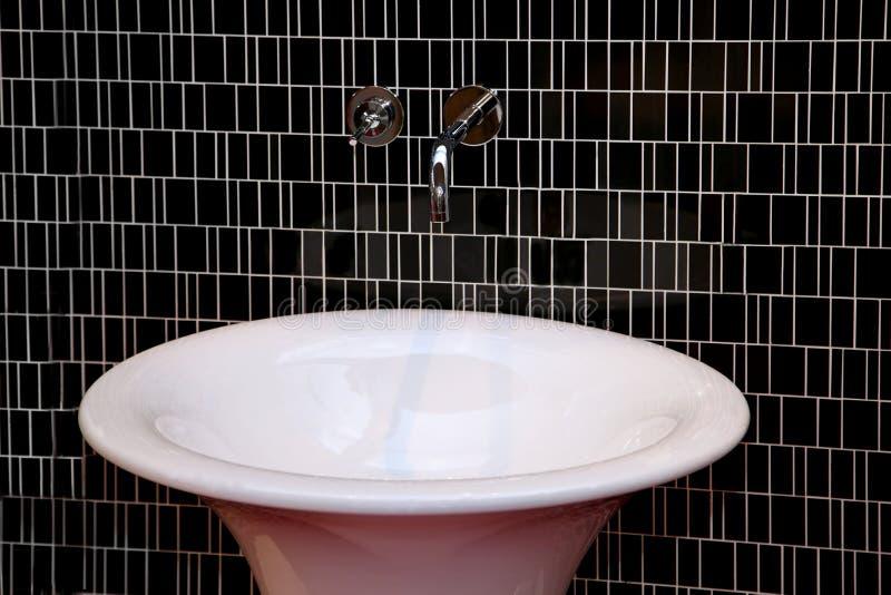 Detalle del lavabo fotografía de archivo libre de regalías
