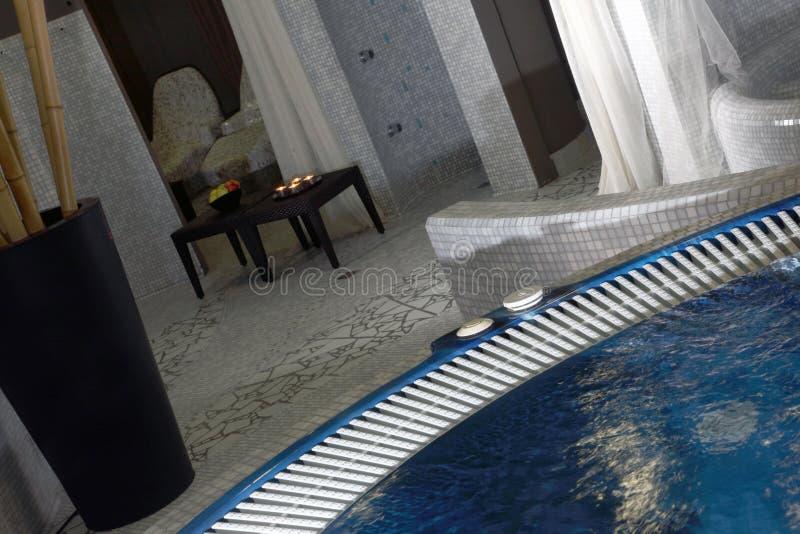 Detalle del masaje hidráulico foto de archivo libre de regalías