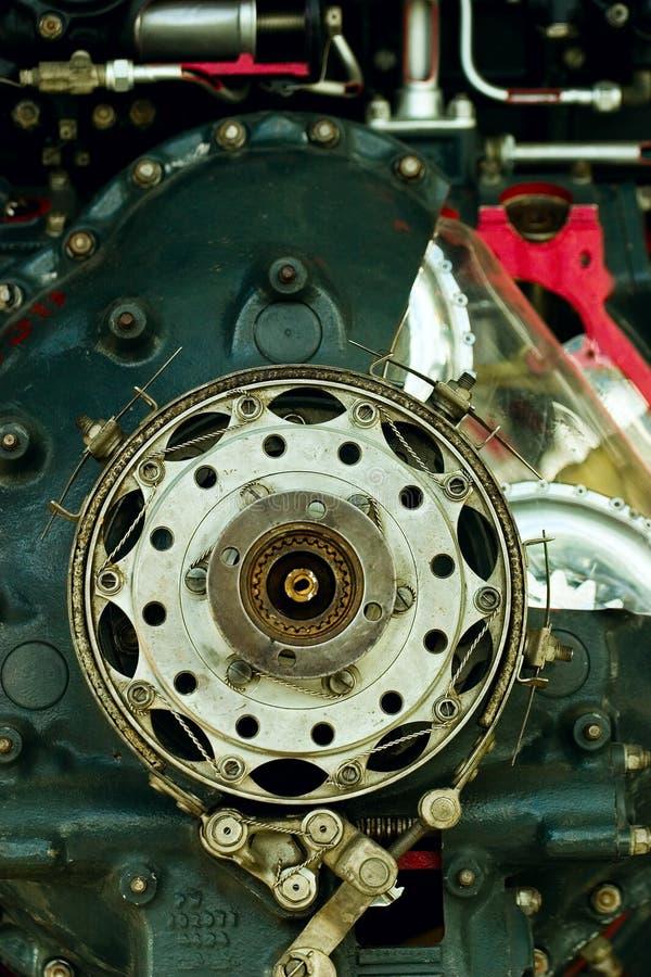 Detalle del motor de pistón fotos de archivo libres de regalías