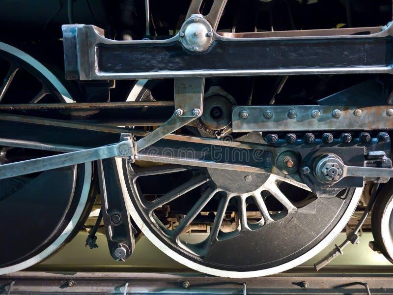 Detalle del motor de vapor foto de archivo