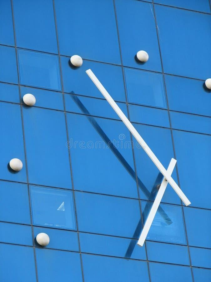 Detalle del reloj imagen de archivo