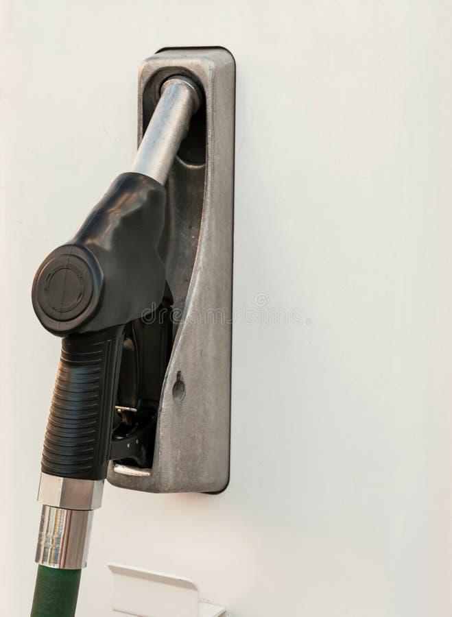 Detalle del surtidor de gasolina fotografía de archivo libre de regalías