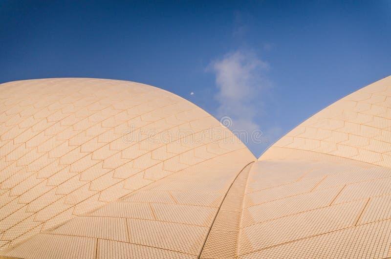 Detalle del teatro de la ópera de Sydney foto de archivo