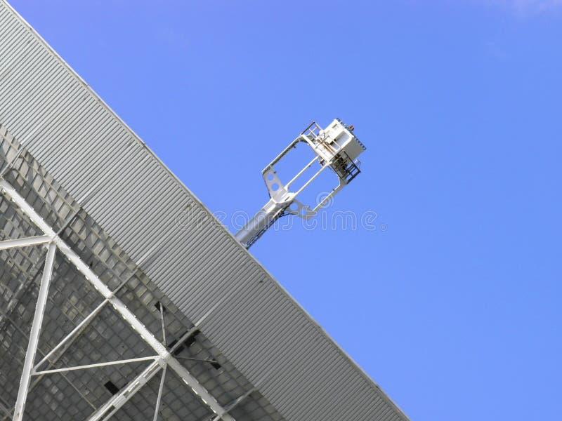 Detalle del telescopio de radio fotos de archivo