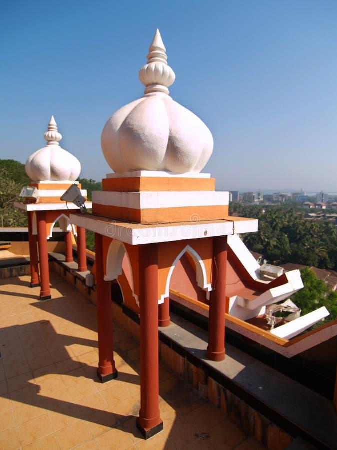 Detalle del templo de Maruti fotografía de archivo libre de regalías