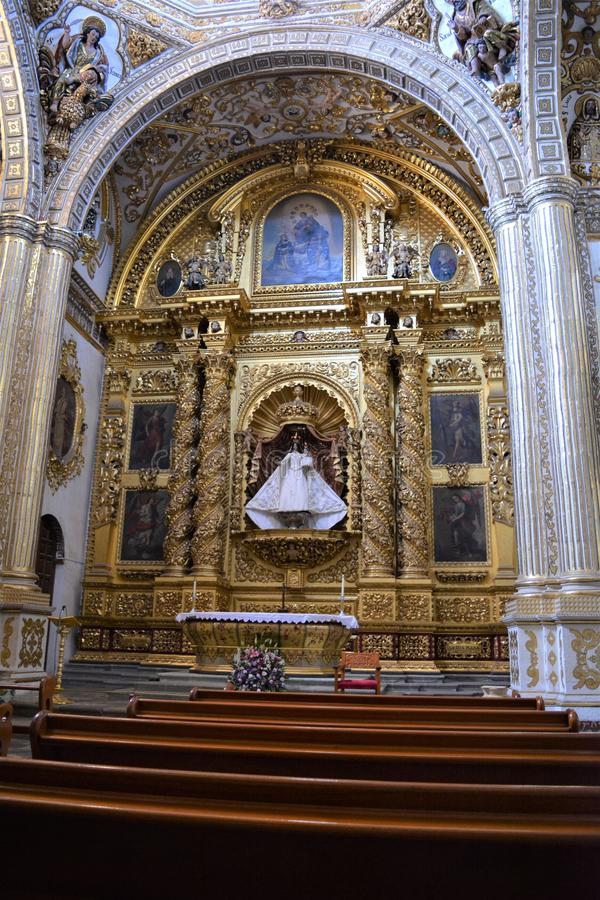 Detalle del templo de Santo Domingo en Oaxaca6. One of the most beautiful and important places in Oaxaca city, a place full of history. Amazing construction, the stock photos