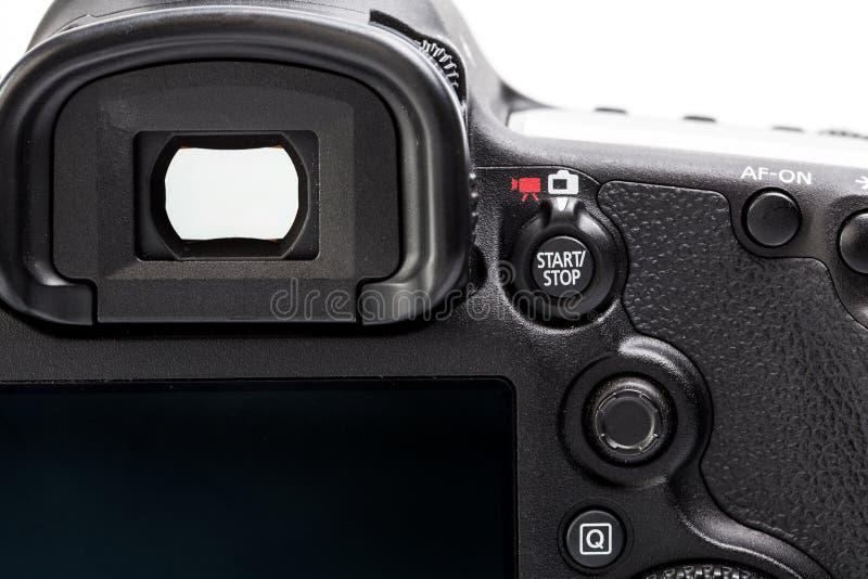 Detalle del top LCD con los ajustes imagenes de archivo