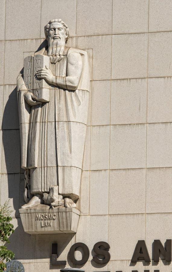 Detalle del Tribunal Superior de Los Ángeles imagenes de archivo