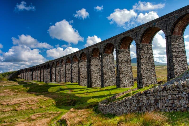 Detalle del viaducto en Inglaterra fotografía de archivo libre de regalías