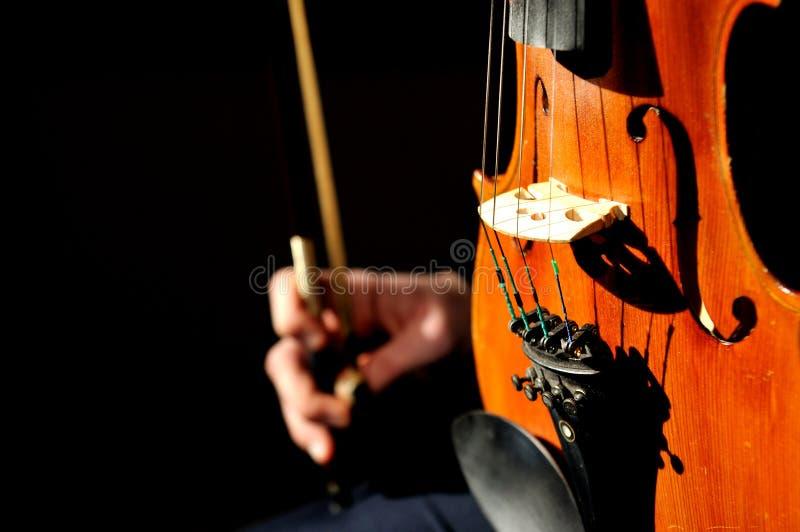 Detalle del violín fotos de archivo libres de regalías
