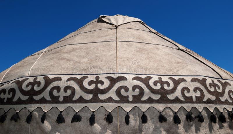 Detalle del yurt imagen de archivo