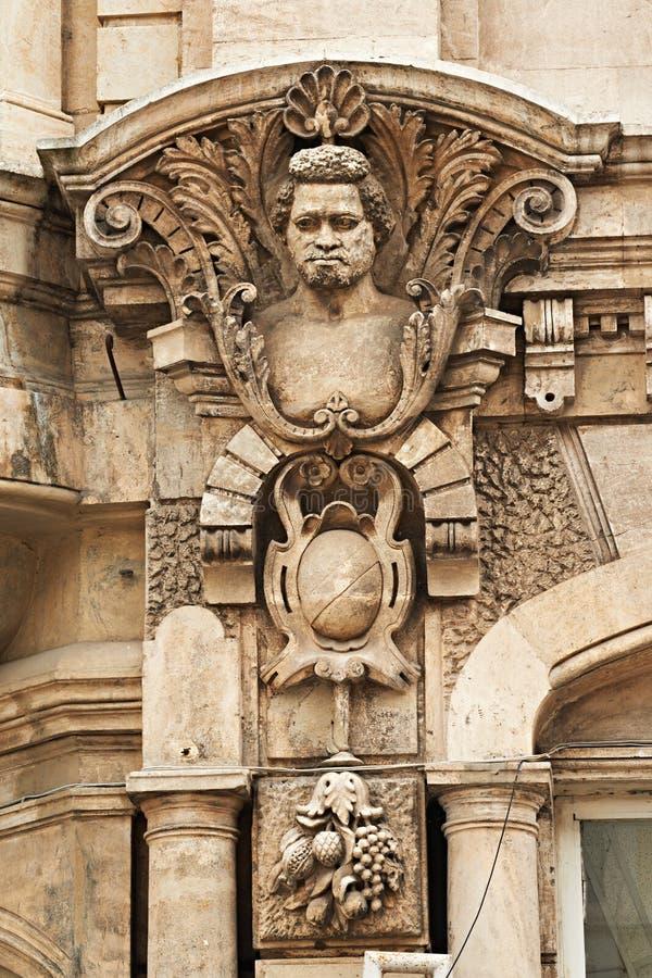 Detalle exterior de Rousse Bulgaria imagen de archivo libre de regalías