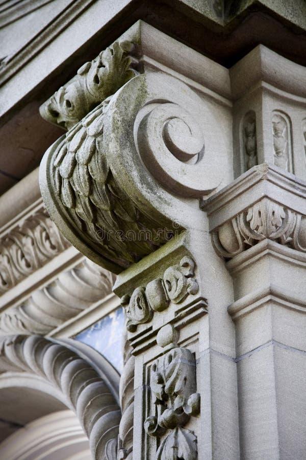 Detalle exterior del edificio imagen de archivo libre de regalías