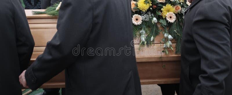 Detalle fúnebre de la escena imagen de archivo libre de regalías