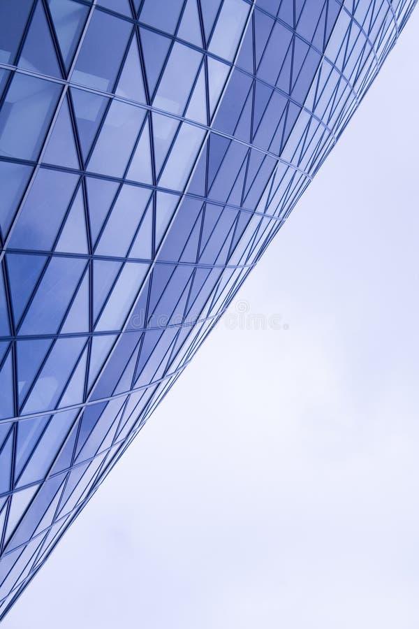 Detalle geométrico del edificio fotos de archivo