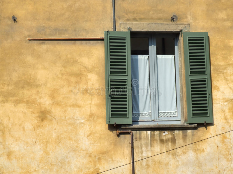 Detalle hermoso del townscape en Italia imágenes de archivo libres de regalías