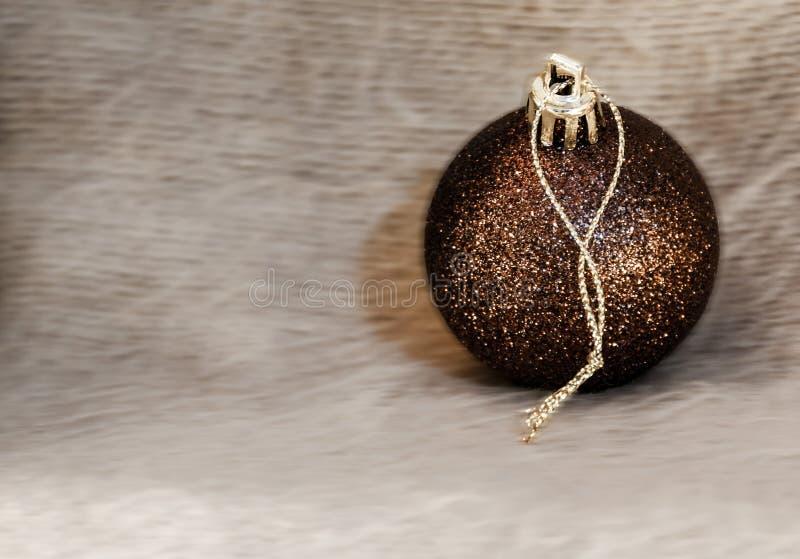 Detalle macro de varias bolas de la Navidad fotografía de archivo libre de regalías