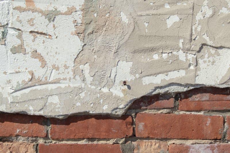 Detalle resistido de la pared de piedra imágenes de archivo libres de regalías