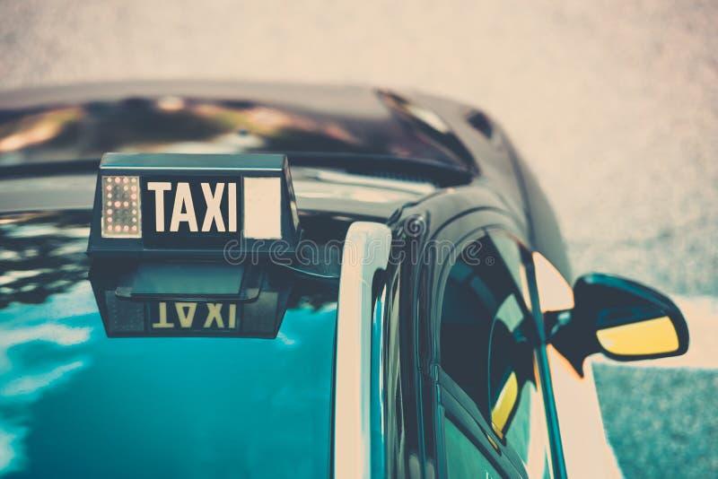 Detalle vacante del taxi imágenes de archivo libres de regalías