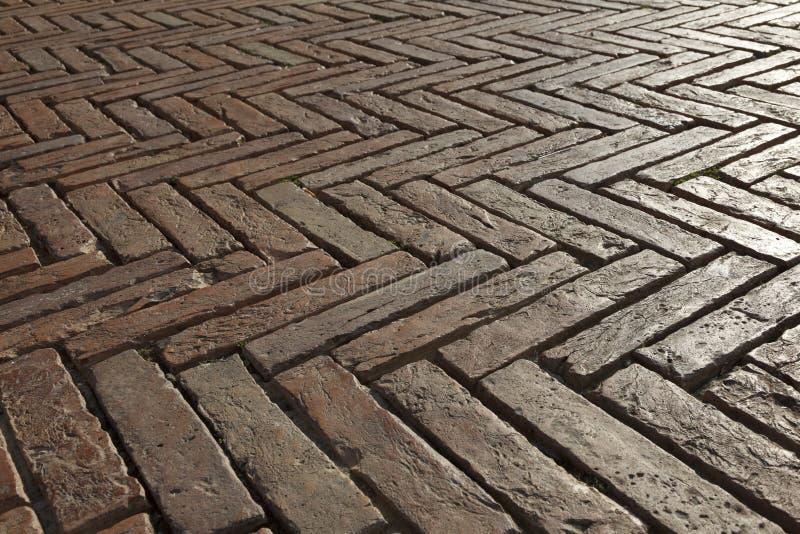 Detalles de la arquitectura en la plaza Del Campo, Siena imagenes de archivo