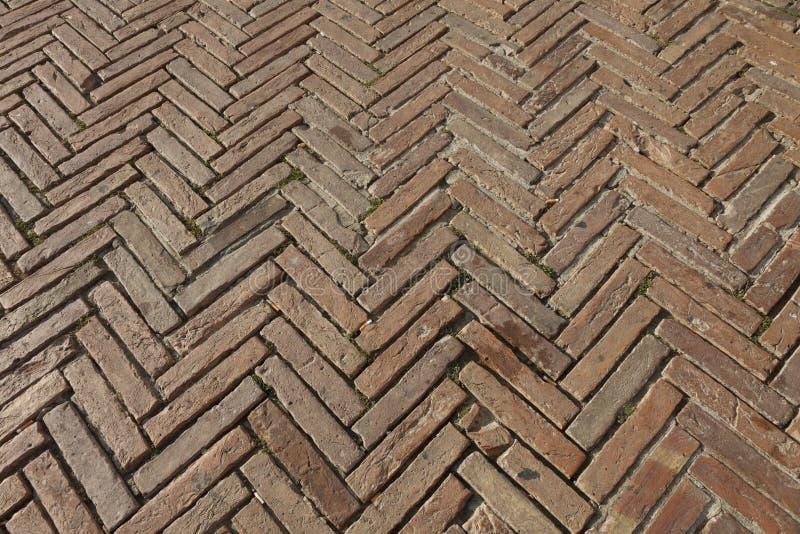 Detalles de la arquitectura en la plaza Del Campo, Siena foto de archivo