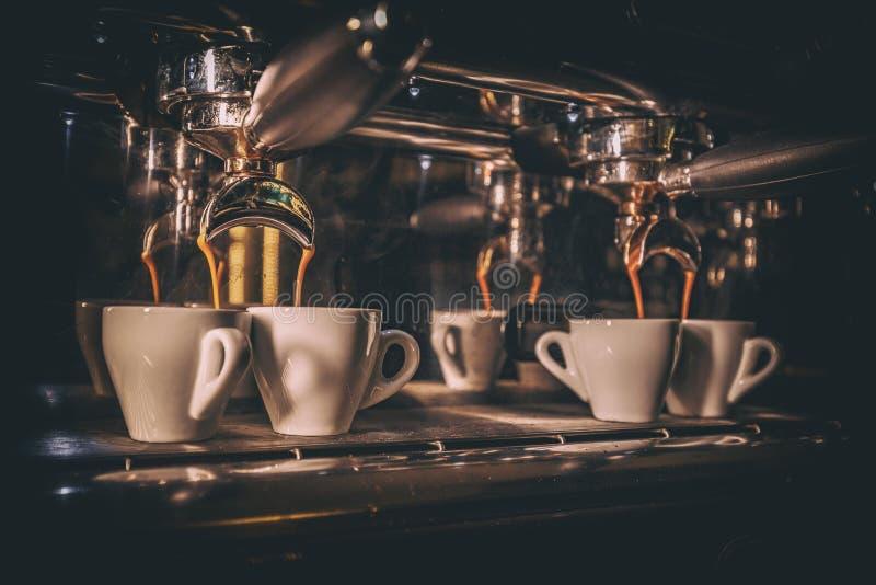 Detalles de la barra de café fotografía de archivo