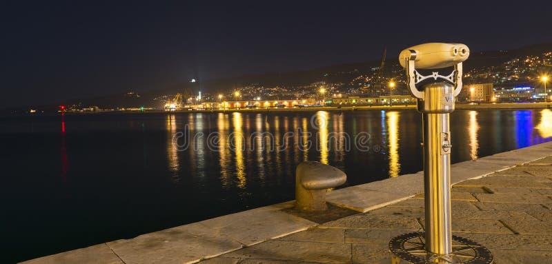 Detalles de la ciudad de Trieste foto de archivo libre de regalías