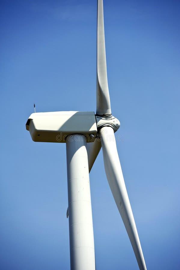 Detalles de la turbina de viento fotografía de archivo