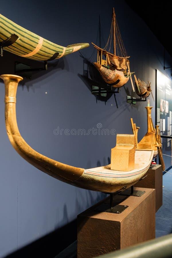 Detalles de un museo egipcio fotos de archivo