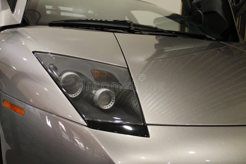 Detalles del frente de Lamborghini Murcielago fotos de archivo