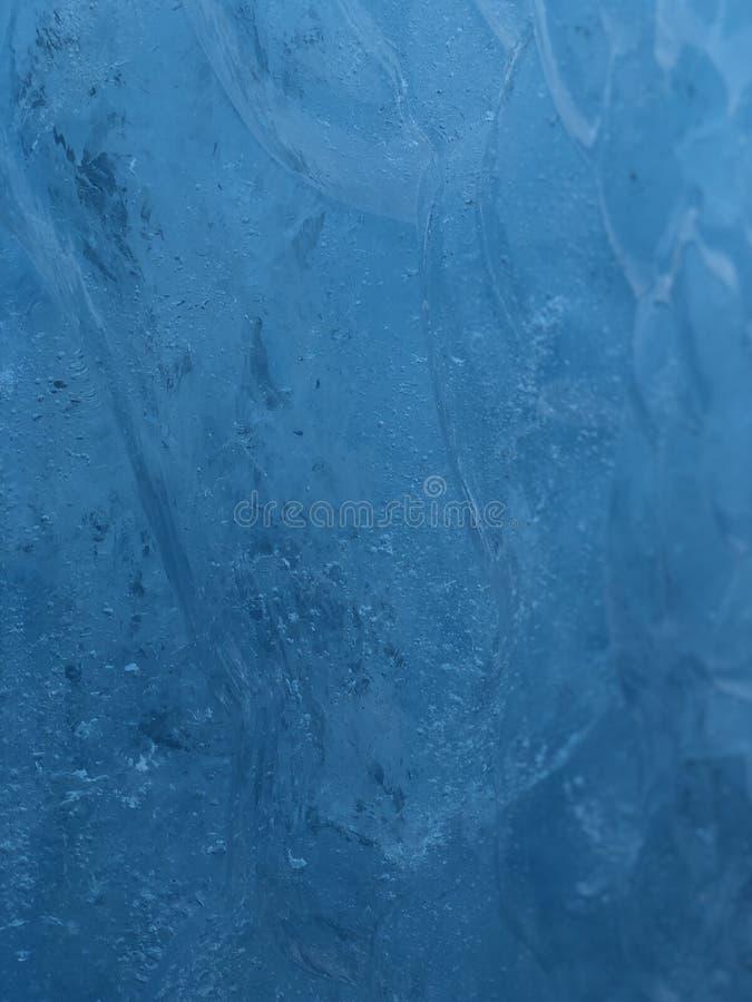 Detalles del hielo del glaciar imagen de archivo libre de regalías