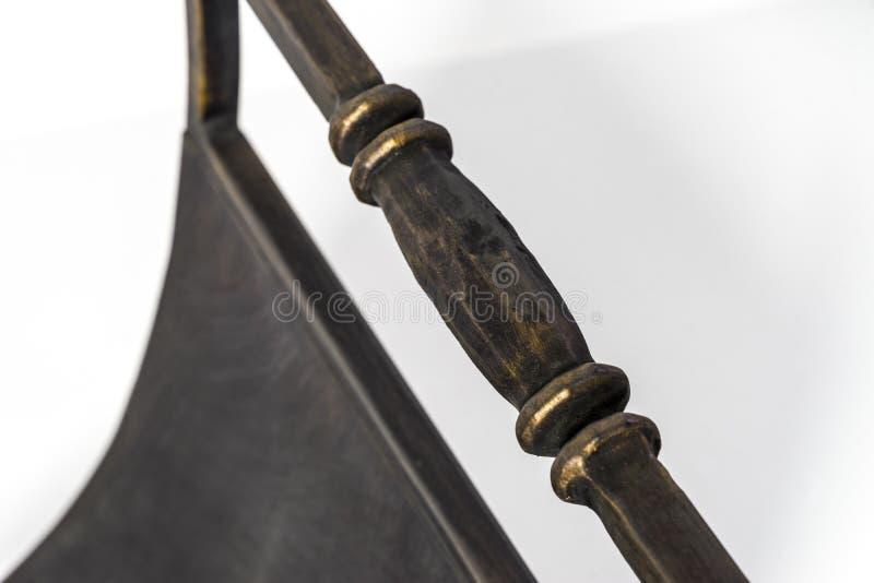 Detalles del hierro labrado Ornamentos y str hermosos foto de archivo