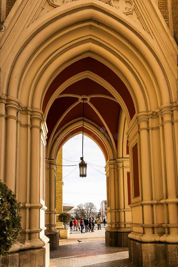 Detalles del nombre de Mary Church imágenes de archivo libres de regalías