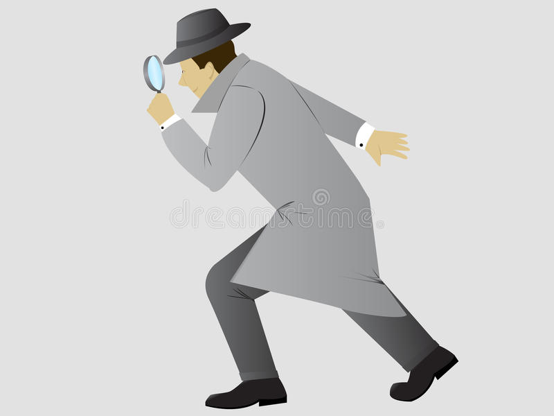 Detective royalty free stock photography