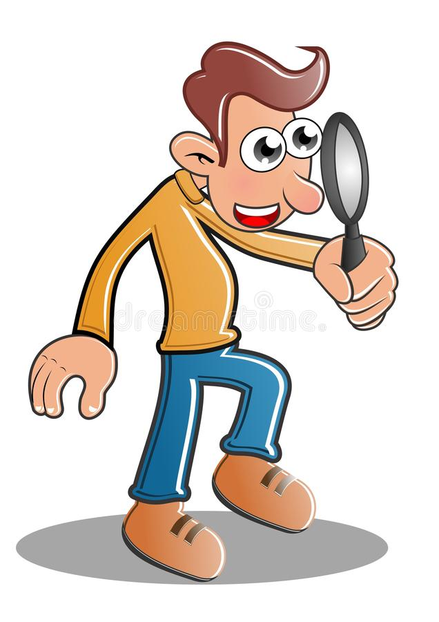 Download Detective stock illustration. Image of find, inspect - 22160074