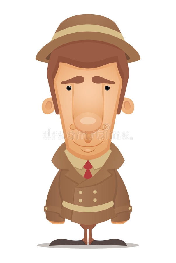 Download Detective stock vector. Image of espionage, illustration - 23828750